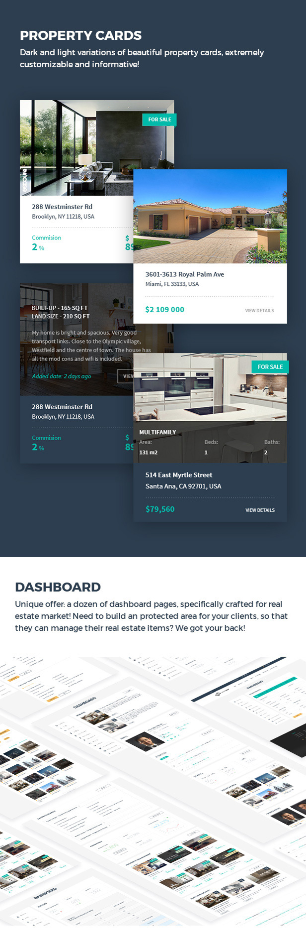 Realtyspace v2.1.2 - Real Estate HTML5 Template + Dashboard Included - 12