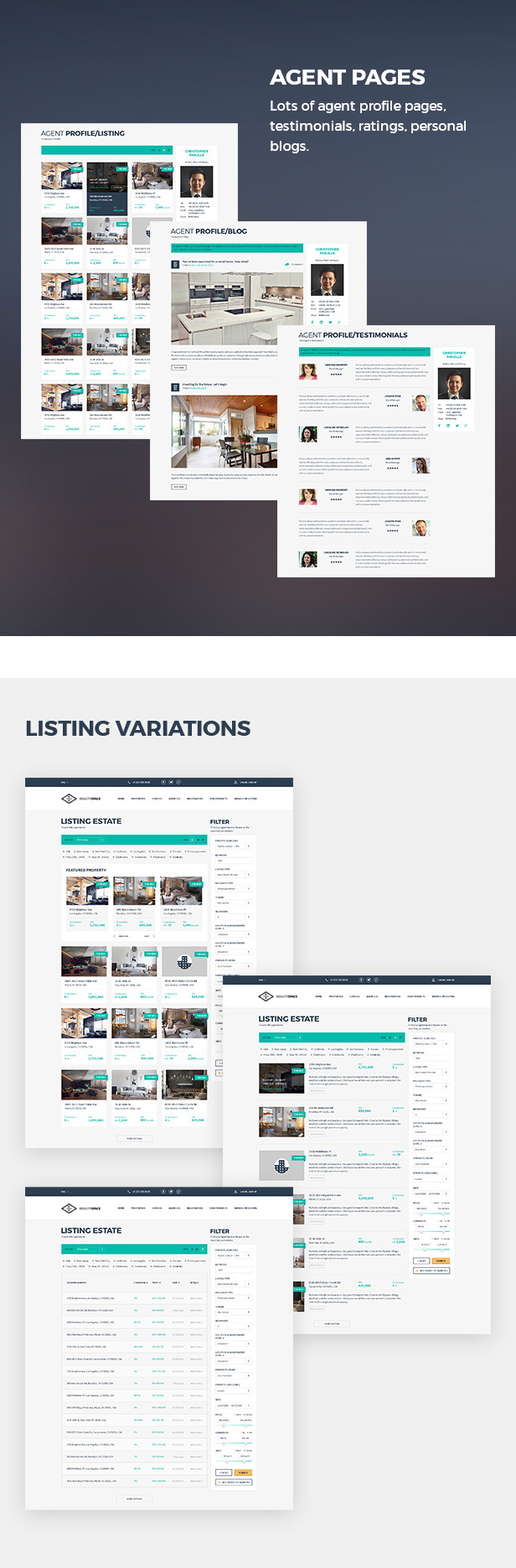 Realtyspace v2.1.2 - Real Estate HTML5 Template + Dashboard Included - 13