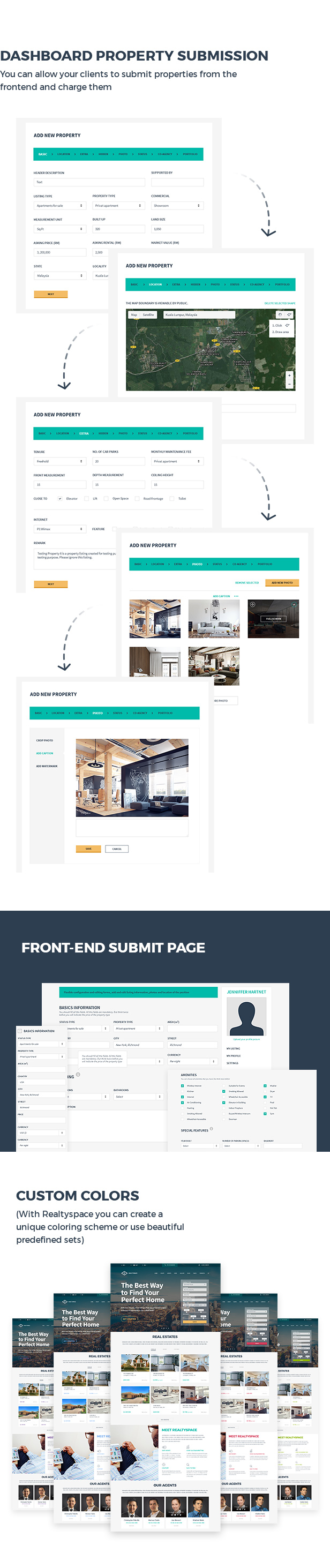 Realtyspace v2.1.2 - Real Estate HTML5 Template + Dashboard Included - 14
