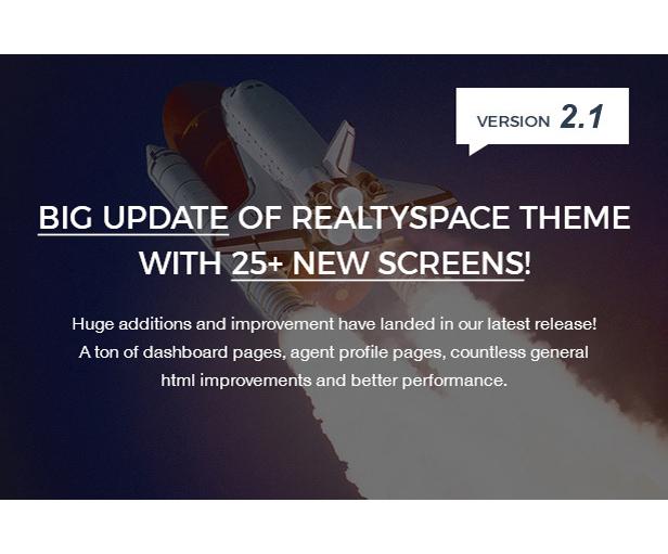Realtyspace v2.1.2 - Real Estate HTML5 Template + Dashboard Included - 9