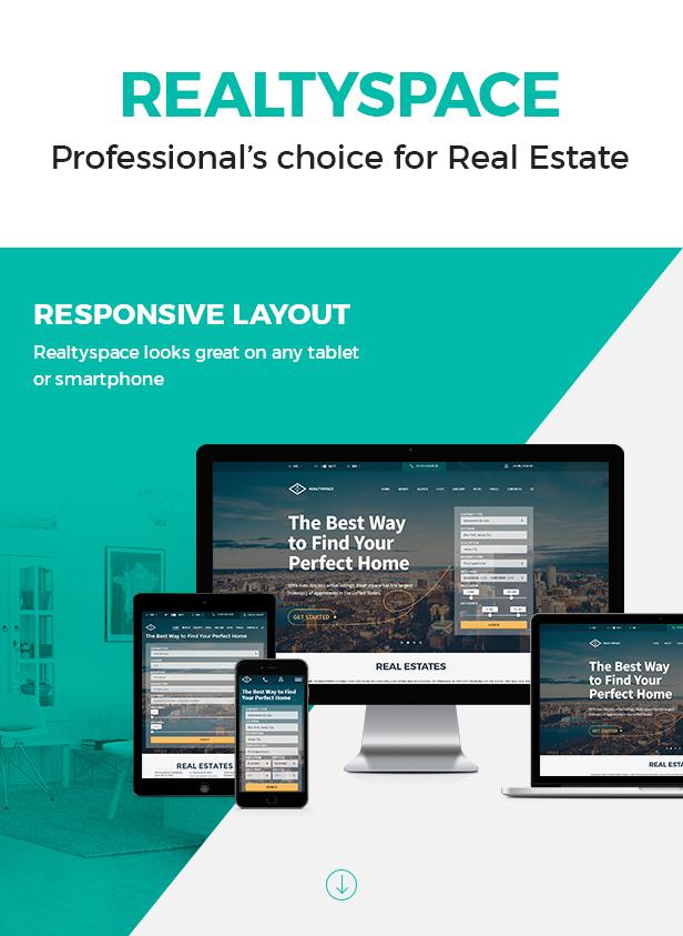 Realtyspace - Real estate WordPress Theme - 11